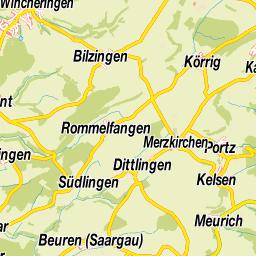 Mosel Karte Mit Allen Orten.Suchergebnisse In Deutschland Saarland Merzig Wadern Perl Mosel