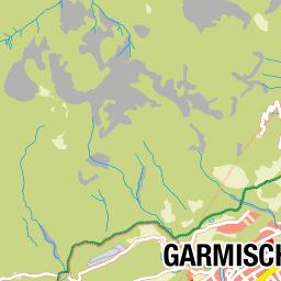 Side T303274rkei Karte.Garmisch Partenkirchen Karte Deutschland