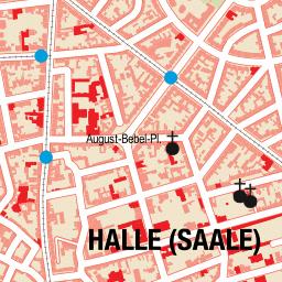 Stadtplan Sachsen-Anhalt, Halle (Saale) - stadtplan.net